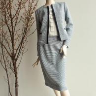 2020新作Reflect   濃紺のブレードで上品なスーツ ⁂完売いたしました