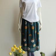 M.&KYOKO *スカートは完売となりました Tシャツ(ポーシャル)¥9900+tax