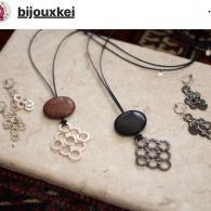 Bijoux Kei (ビジュケイ)人気の水牛、黒檀、錫に加えて銅の素材が仲間入り