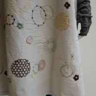 M.&KYOKO 可愛くて涼し気な刺繍