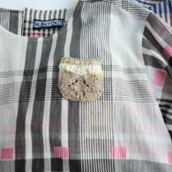 M.&KYOKO ニットのポケットが可愛い