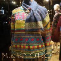 M.&KYOKO 定番ジャガード編みのセーター¥31900(税込)