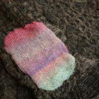 M.&KYOKO セーターの肘¥24200(税込)