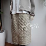 POUSHAL キルトのスカート¥20790