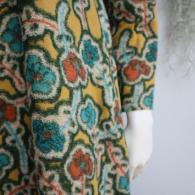M.&KYOKOコットンのベースにウールで柄を描いた人気のパイルジャージ