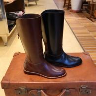 MIYAGIKOUGYOU FOR WOMEN バックファスナーブーツ受注販売