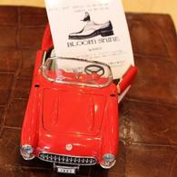 シボレー コルベット1957モデル Shoe Shineのイベント案内と共に。