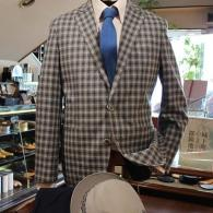 RICHARD JAMESジャケット¥75,900(税込)シルク50%のしなやかな着心地。