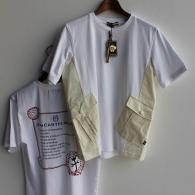 mila schonTシャツ¥14,300税込 布帛の大きなポケットがとってもオシャレ。castelbajac¥18,700はバックプリントが可愛いんです。